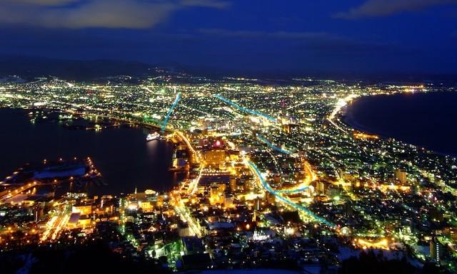 世界の大都市の夜景の画像の画像62枚目!