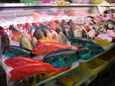 沖縄の魚屋の画像1枚目!