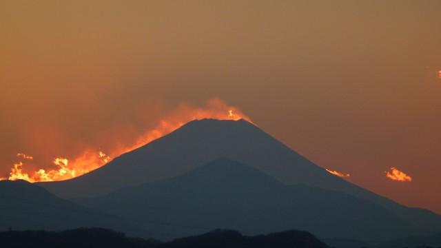 冬の富士山の画像16枚目!