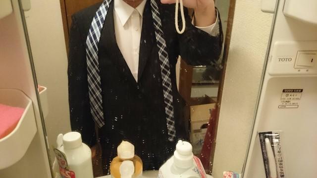 意を決してハロワ行くためスーツを購入の画像1枚目!