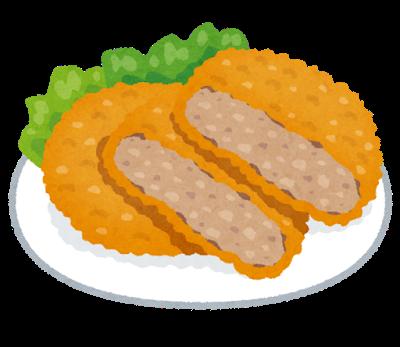 本田望結ちゃん16、とんでもない量のメンチカツ定食を食べる